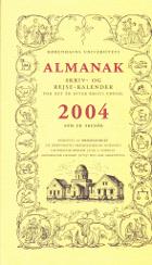 Almanak. Skriv- og Rejse- Kalender for det år efter Kristi Fødsel 2004