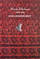 Danske Folkedanseres Jubilæumsskrift 1929-1979
