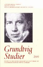 Grundtvig- Studier 2010.