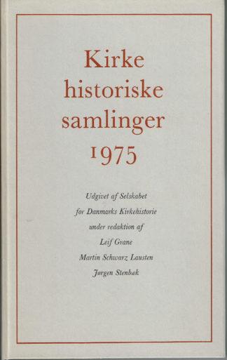 Kirkehistoriske Samlinger 1975