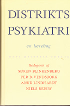 Distriktspsykiatri - en lærebog.