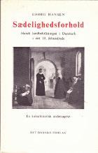Sædelighedsforhold blandt landbefolkningen i Danmark i det 18. århundrede