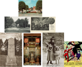 Postkort og billeder